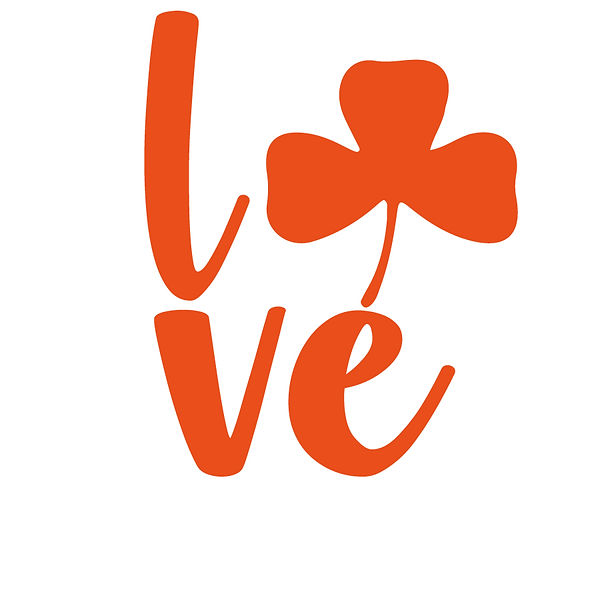 Love irish orange Png | Free Iron on Transfer Slay & Silly Quotes T- Shirt Design in Png