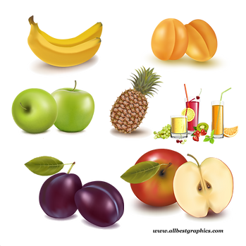 Gorgeous Healthy & Exotic Fresh Farm Fruits and Vegetables | Food clipart png free download