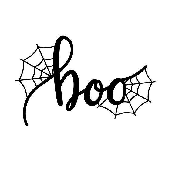 Boo by digitalistdesigns | Free Iron on Transfer Cool Quotes T- Shirt Design in Png