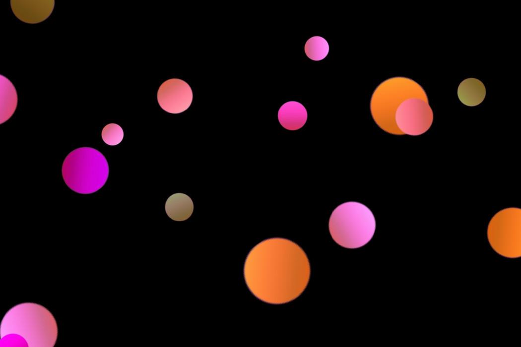 Romantic City Light Bokeh Overlay on black background | Photo Overlays