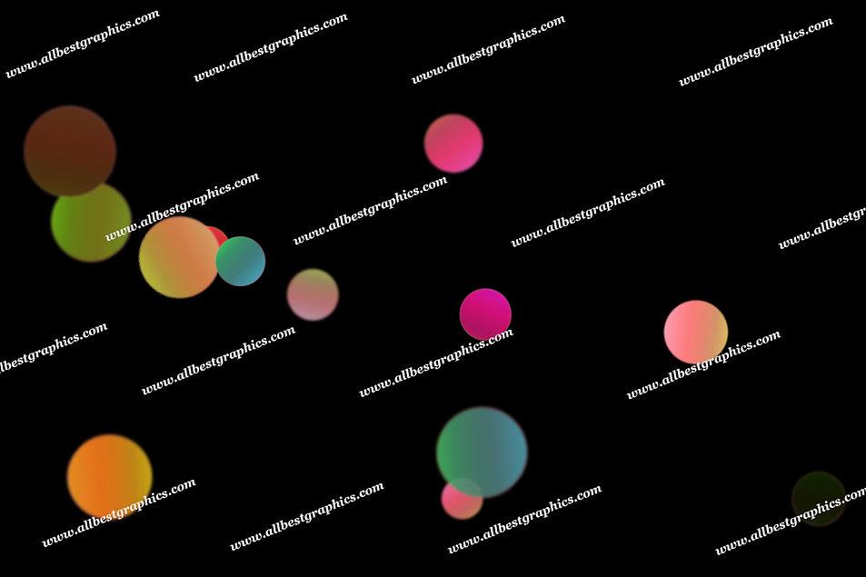 Fine Party Lights Bokeh Background | Stunning Photoshop Overlay on Black