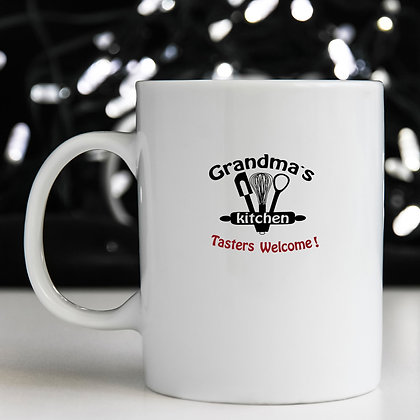 Grandma's Kitchen Taster Welcome | Brainy Kitchen SignCut files inDxf Eps Svg