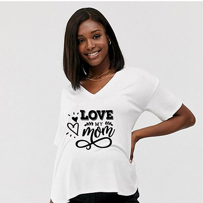 Love My Mom | Sassy Mom Quotes & SignsCut files inDxf Eps Svg