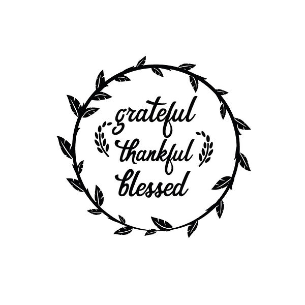 Grateful thankful blessed Png   Free Printable Slay & Silly Quotes T- Shirt Design in Png