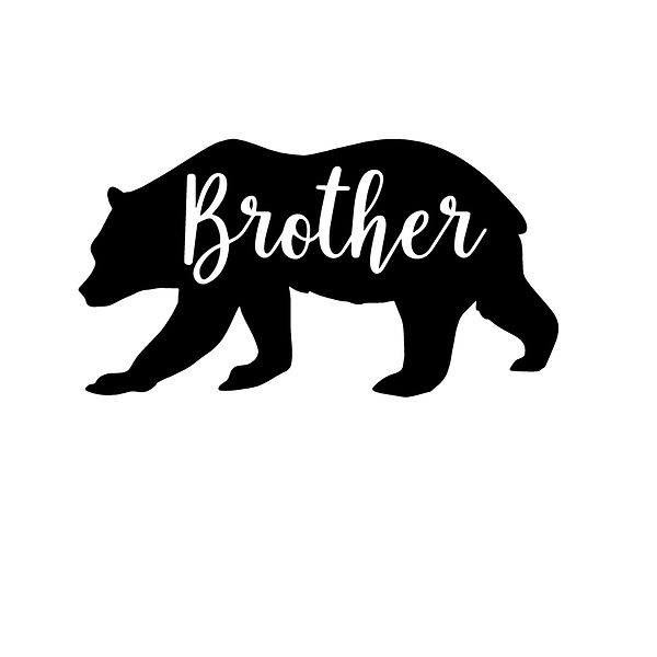 Brother-bear | Free download Iron on Transfer Sassy Quotes T- Shirt Design in Png