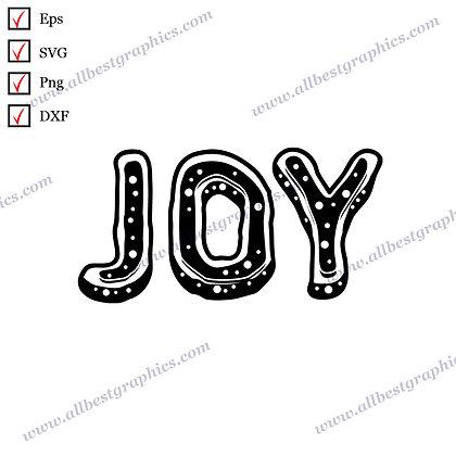 Joy   Cool Quotes Christmas DecorCut files