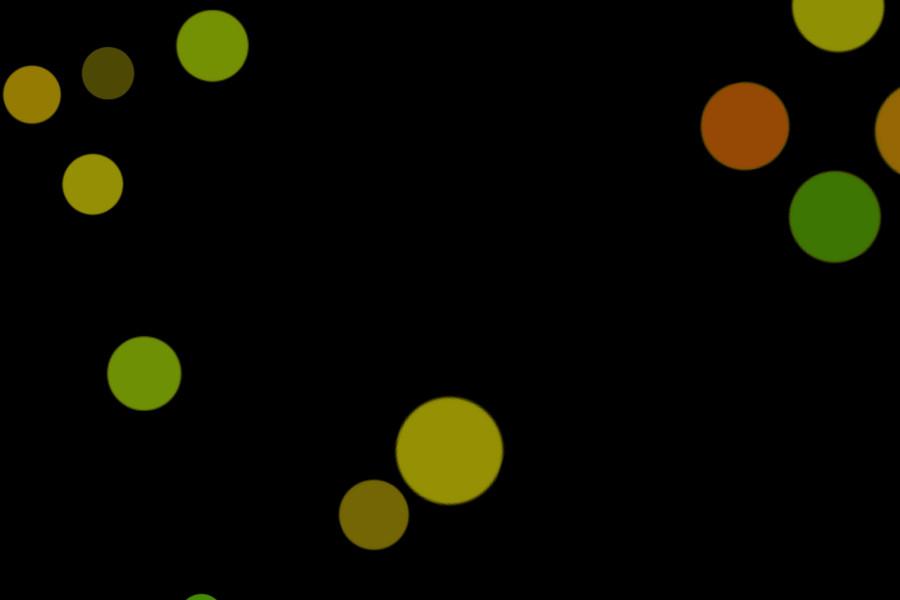 Beautiful Holiday Light Bokeh Texture on black background | Freebies