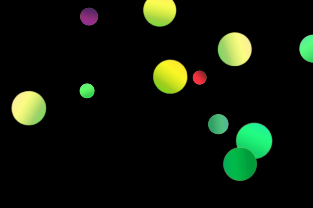 Colorful Party Light Bokeh Effect on black background | Free Download