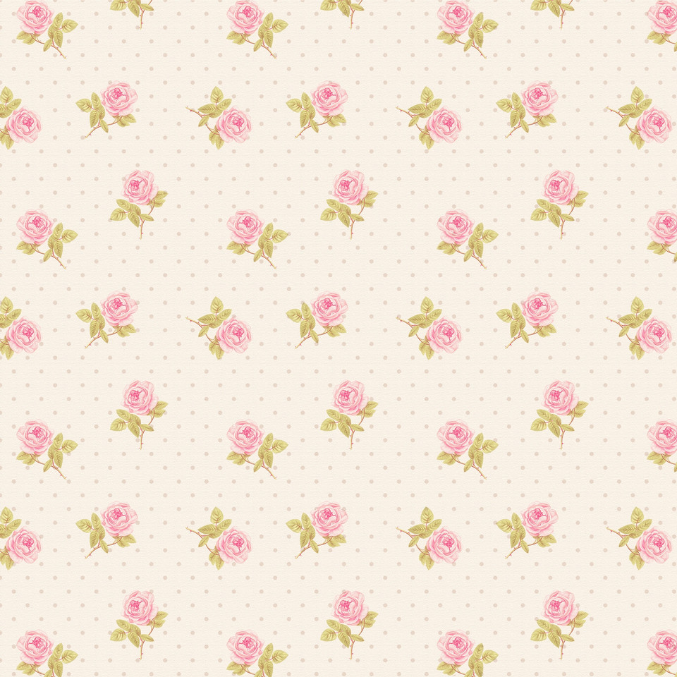 Pink roses digital paper with seamless design   Party Digital Papers