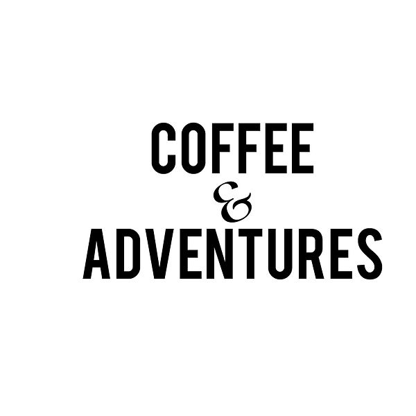 Coffee and adventures | Free download Printable Sassy Quotes T- Shirt Design in Png