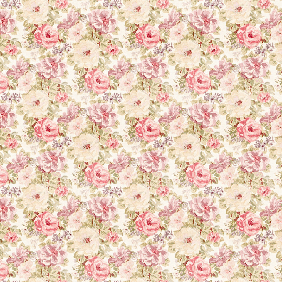 Shabby Chic peony digital paper with seamless design | Gift Digital Papers