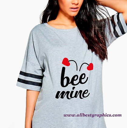 Bee Mini Heart | Cool Quotes & Signs for Silhouette Cameo and Cricut