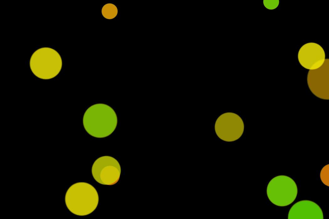 Gorgeous Festival Light Bokeh Overlay on black background | Photo Overlays