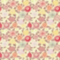 Spring floral digital paper with roses | Scrapbook Paper