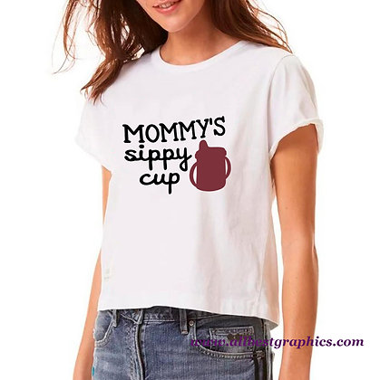 Mommy's Sippy Cut Designs | Sarcastic Mom Quotes & Signs in Eps Svg Png Dxf