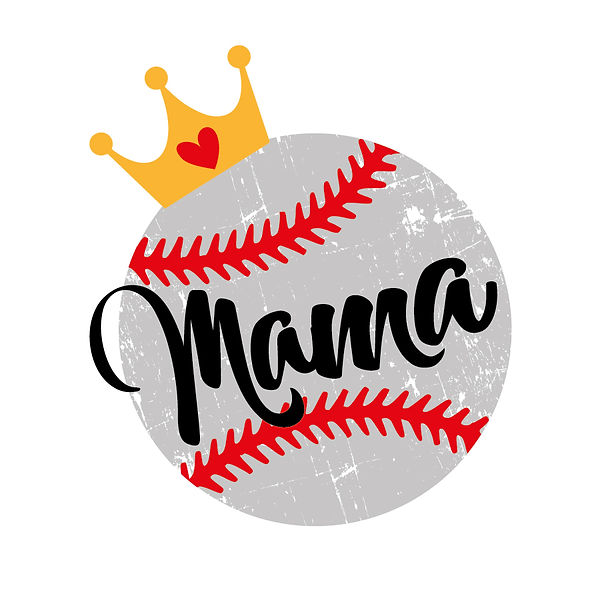 Mama baseball Png | Free Iron on Transfer Funny Quotes T- Shirt Design in Png