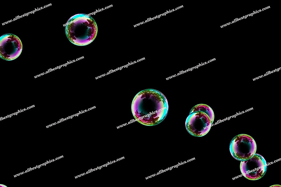 Whimsical Blowing Bubble Overlays | Unbelievable Photoshop Overlays on Black