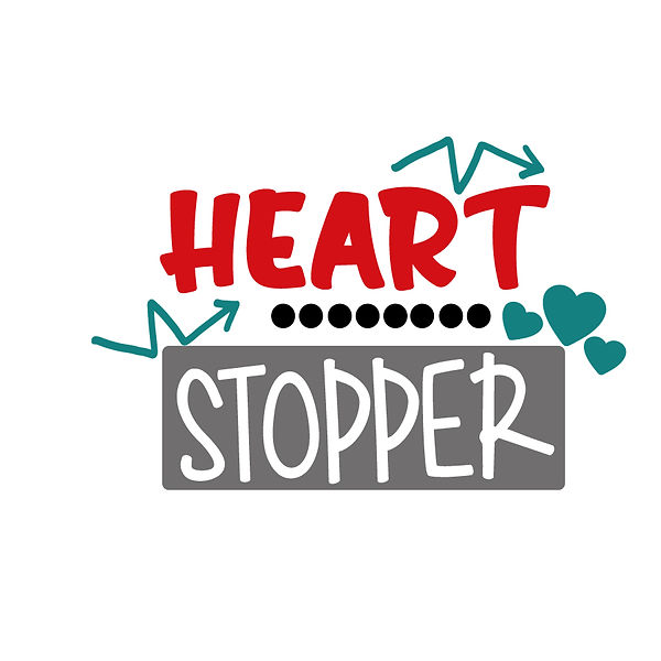 Heart stopper osg Png   Free Iron on Transfer Funny Quotes T- Shirt Design in Png