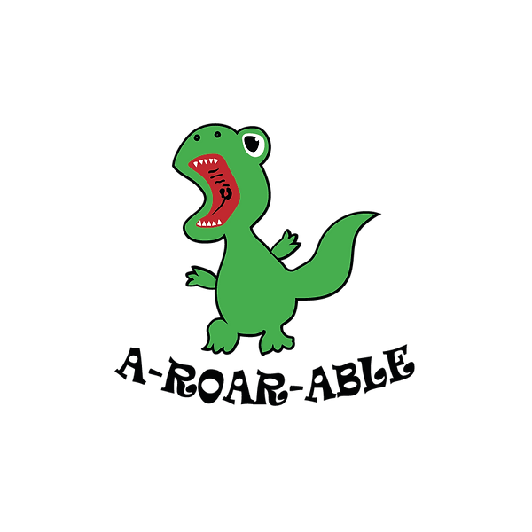A-Roar-Able   Free download Iron on Transfer Sarcastic Quotes T- Shirt Design in Png