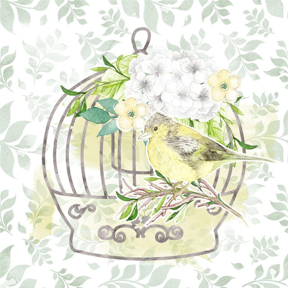 Luxury watercolor digital paper with pastel flowers   Seamless Digital Paper