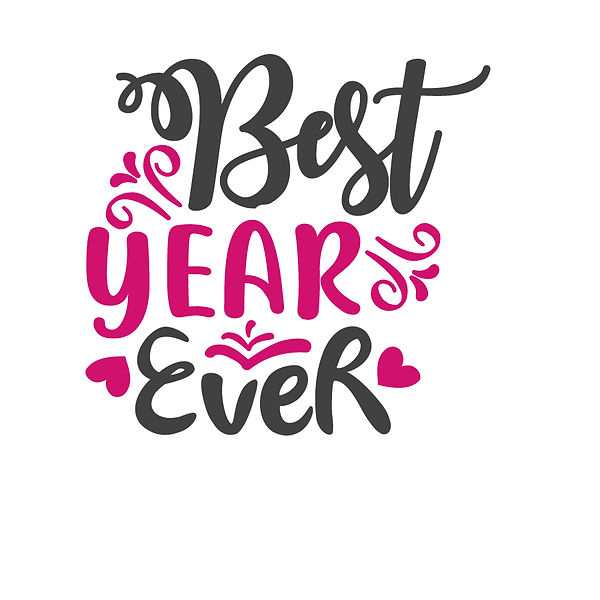 Best year ever | Free Iron on Transfer Slay & Silly Quotes T- Shirt Design in Png
