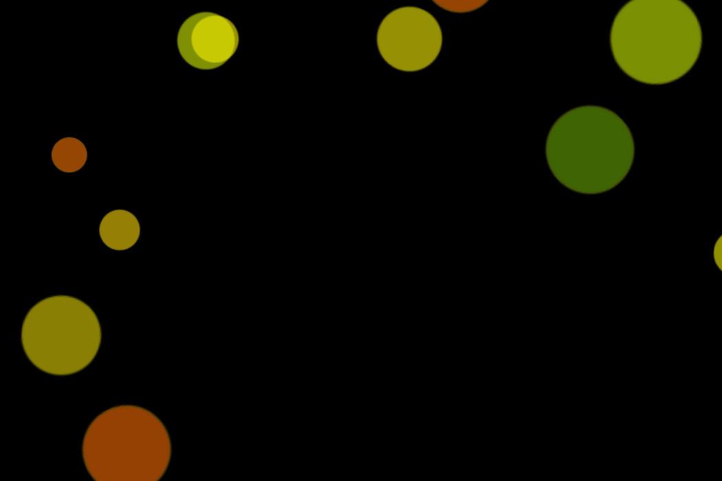 Realistic Christmas Light Bokeh Overlay on black background | Free Overlays