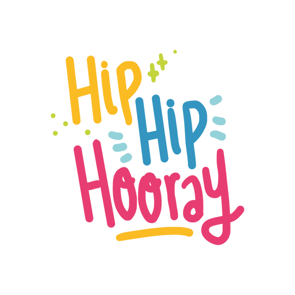 Hip Hip Hooray | Free download Iron on Transfer Sassy Quotes T- Shirt Design in Png