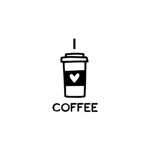 I love coffee Png | Free Iron on Transfer Cool Quotes T- Shirt Design in Png