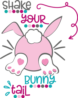 Snake Your Bunny Tail | Easter and Bunny Quotes & Signs for Silhouette Cameo