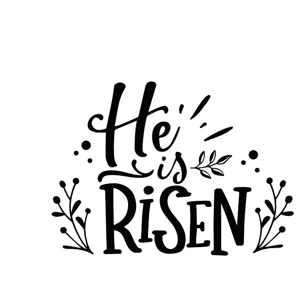 He is risen Png | Free Printable Slay & Silly Quotes T- Shirt Design in Png