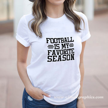 Football is My Favorite Season | Funny Sport Quotes & Signs for Cricut