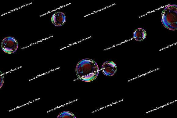 Dreamy Baby Bubble Overlays | Fantastic Photoshop Overlays on Black
