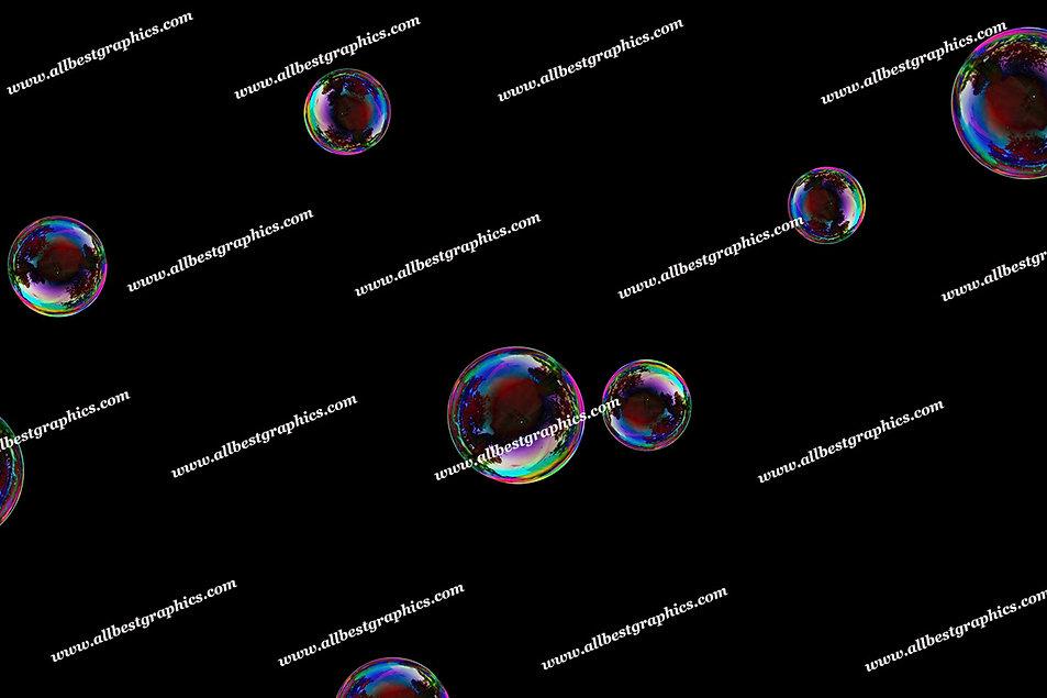 Dreamy Baby Bubble Overlays   Fantastic Photoshop Overlays on Black