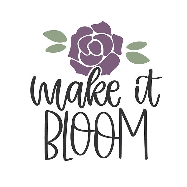 Make it bloom Png | Free download Iron on Transfer Sarcastic Quotes T- Shirt Design in Png