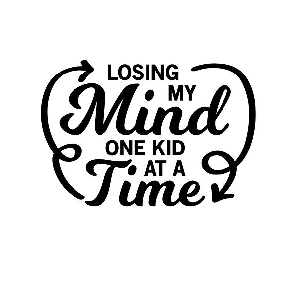 Losing my mind one dog at a time Png   Free Iron on Transfer Funny Quotes T- Shirt Design in Png