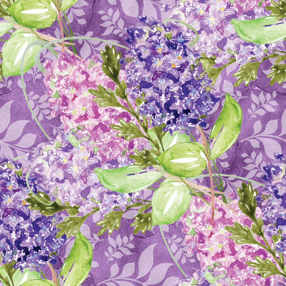Great watercolor digital paper with roses | Gift Digital Paper