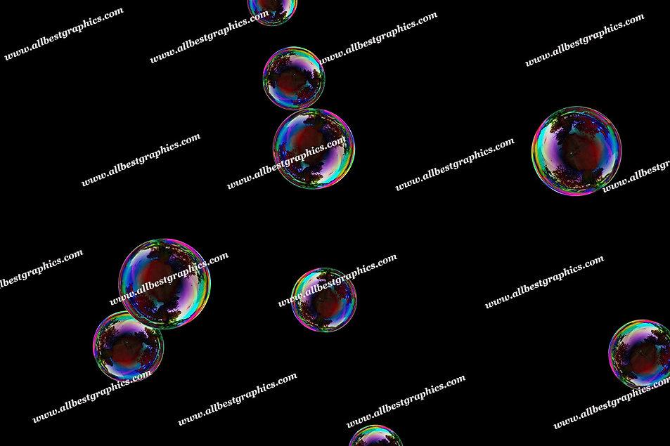 Awesome Soap Bubble Overlays | Stunning Photo Overlay on Black