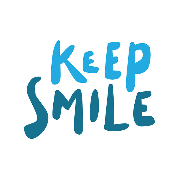 Keep smile Png | Free download Iron on Transfer Sassy Quotes T- Shirt Design in Png