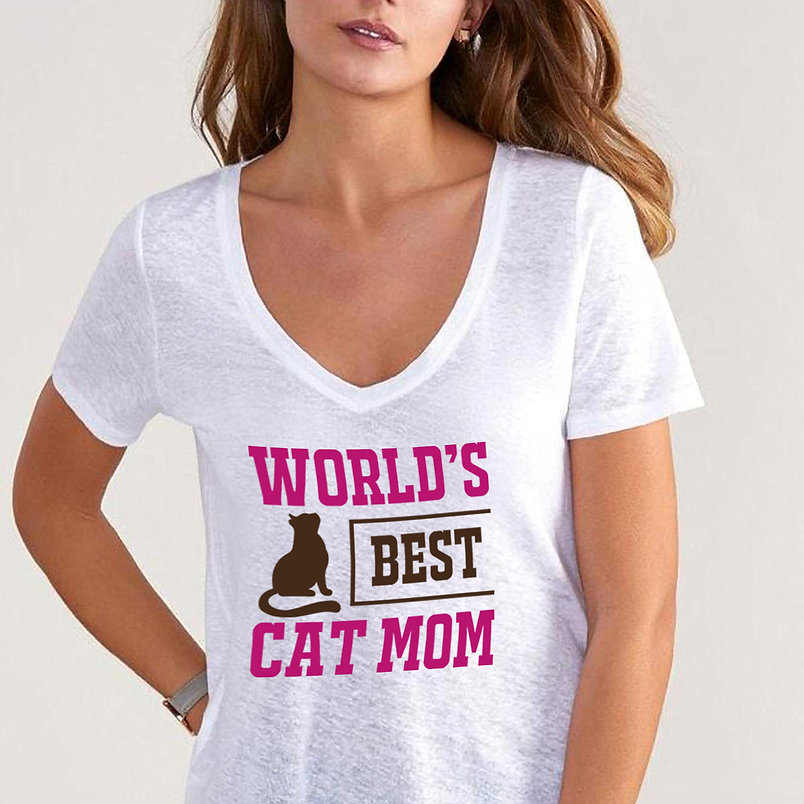 World's Best Cat Mom | Brainy Mom Quotes & Signs Cut files in Eps Svg Dxf