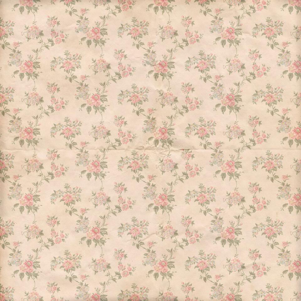 Watercolor roses digital paper with seamless design | Handmade Digital Papers
