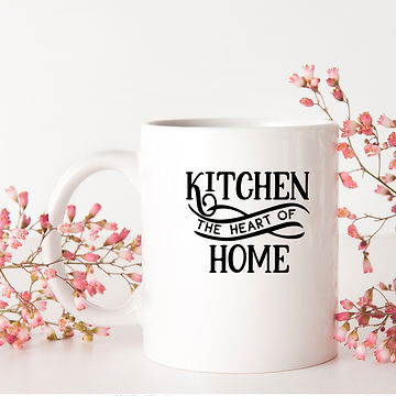 Kitchen the Heart Of Home | Best Kitchen SignsCut files inEps Dxf Svg