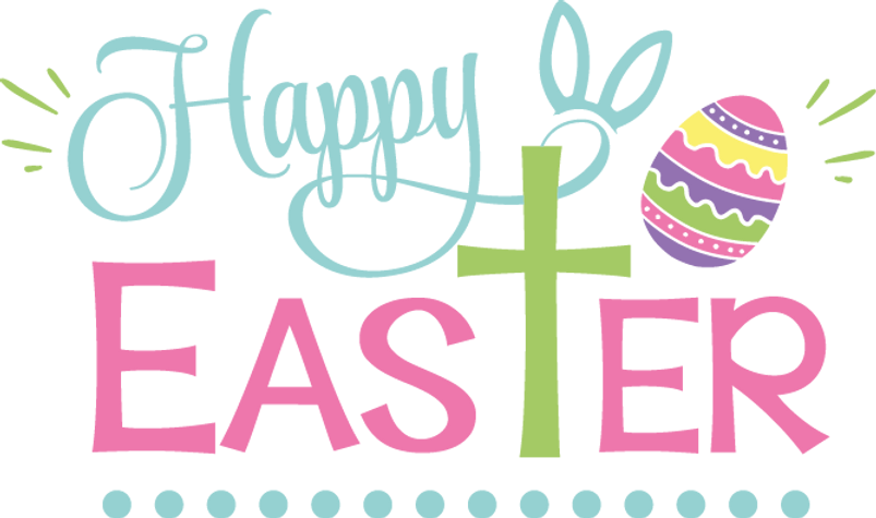 Happy Easter | Happy Easter and Bunny Quotes & SignsCut files inDxf Eps Svg