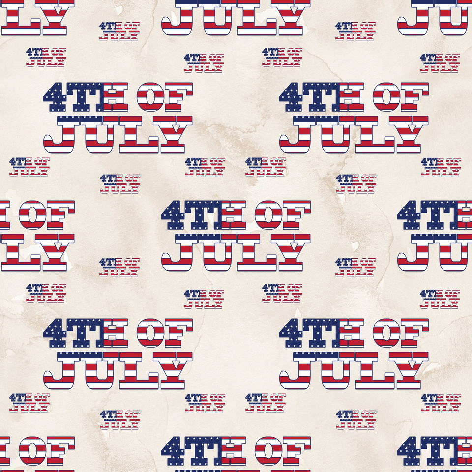Royal 4th of July Patriotic background | Hand Painted Paper
