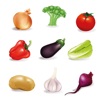 Red Chili Pepper  Onion & Tomato | Food clipart free download -size 2400x2400 300ppi