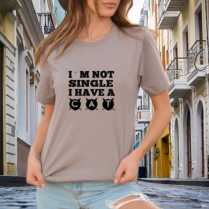 I'm not a single SVG | Iron on Transfer Sarcastic T-shirt Quotes in Eps Svg Png