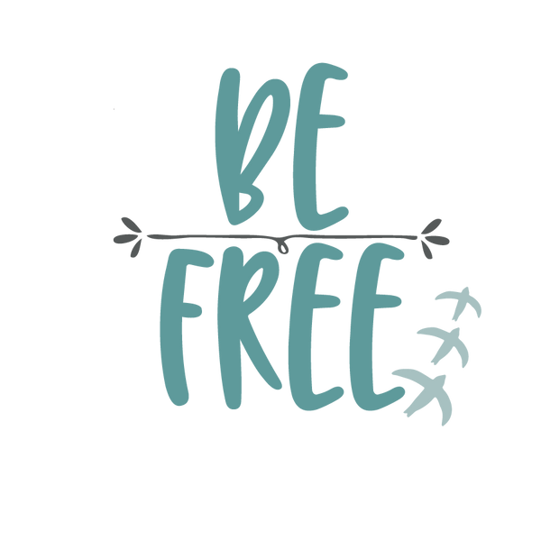 Be free   Free Iron on Transfer Slay & Silly Quotes T- Shirt Design in Png