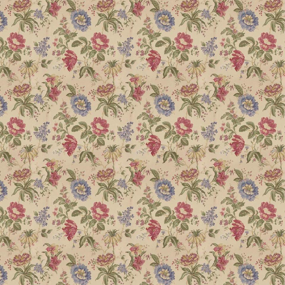 Summer floral digital paper with roses | Printable Digital Paper