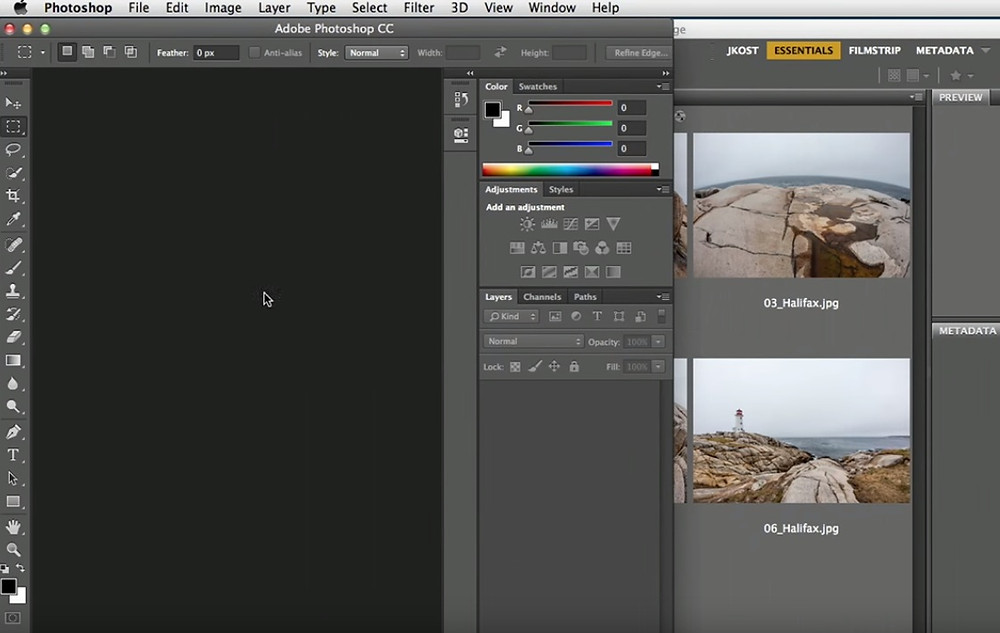 Photoshop CC tutorial | Customizing the interface in Photoshop