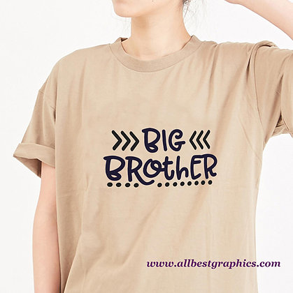 Big Brother | Sassy Quotes & Signs for Silhouette Cameo and Cricut