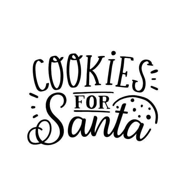 Cookies for santa  Png | Free download Printable Cool Quotes T- Shirt Design in Png